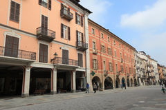Historic urban centre of Cuneo Royalty Free Stock Photo