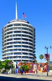 Capital Records Tower Stock Photo