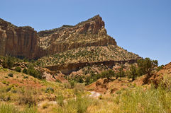 Capital Reef royalty free stock image
