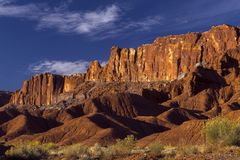 Free Capital Reef National Park In Southern Utah. Historical Mormon Settlement Royalty Free Stock Photo - 162506215