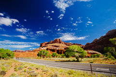 Capital Reef National Park, Utah, USA Royalty Free Stock Photography