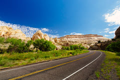 Capital Reef National Park, Utah, USA. Capitol Reef National Park is a United States National Park, in south-central Utah Royalty Free Stock Photos