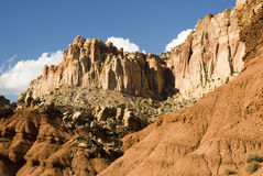 Capital Reef sandstone formations Stock Images