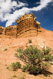 Capital Reef sandstone formations Royalty Free Stock Image