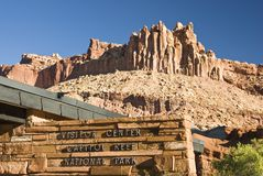 Capital Reef Visitors Center 1 Royalty Free Stock Photo