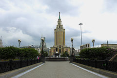 The Capital Of Russia. Royalty Free Stock Image