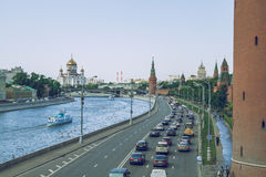 Capital of Russia, Moscow. 2015 royalty free stock image