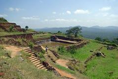 The capital of Sigiriya Stock Photos