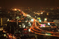 The capital of Thailand - Bangkok Royalty Free Stock Photography