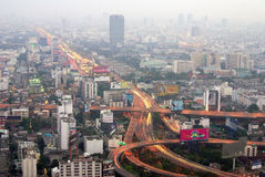 The capital of Thailand - Bangkok Stock Photo