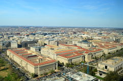 Capital of the United States of America. This photo was taken in Washington DC. Washington, DC, the U.S. capital, is a compact city on the Potomac River Royalty Free Stock Photo
