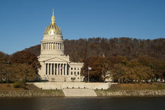 Capital of West Virginia in Charleston Royalty Free Stock Images