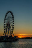 The Capital Wheel at National Harbor Royalty Free Stock Photo