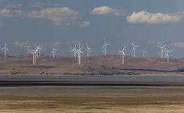 Capital wind farm. Bungendore. NSW. Australia. Royalty Free Stock Images