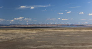 Capital wind farm. View from Federal highway lookout. Bungendore Stock Images