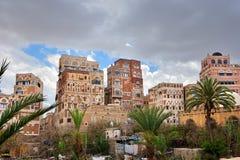Capital of Yemen, Sanaa Stock Photography