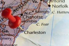 Capitale de Charleston de la Caroline du Sud, Etats-Unis images libres de droits