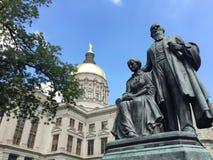 Capitale de l'État de la Géorgie Photos stock