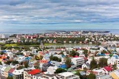 Capitale de l'Islande, Reykjavik, vue Images stock