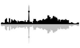 Capitale dell'orizzonte Toronto di Ontario royalty illustrazione gratis