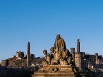 Capitale della Scozia - Edimburgo Immagini Stock