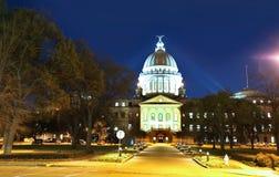 Capitale dello Stato del Mississippi immagine stock libera da diritti