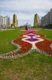 Capitale di Kazakhstan Astana. Fotografie Stock