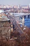 Capitale di Kiev dell'Ucraina Fotografie Stock Libere da Diritti