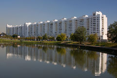 Capitale di Minsk del Belarus Fotografie Stock