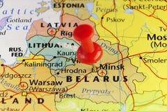 Capitale di Minsk del Belarus Fotografia Stock