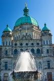 Capitale di provincia Buildiing legislativo Victoria Canada Fotografia Stock Libera da Diritti