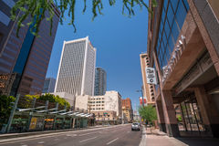 Capitale du centre de Phoenix, Arizona Image stock