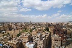 Capitale du Yémen, Sanaa Images libres de droits