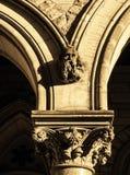 Capitale e arché Fotografie Stock Libere da Diritti