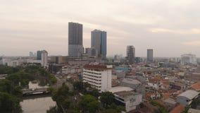 Capitale East Java, Indonesia di Soerabaya fotografie stock libere da diritti