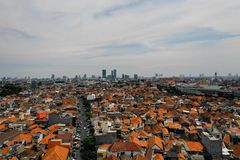 Capitale East Java, Indonesia di Soerabaya immagini stock libere da diritti