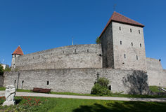 Capitale Eesti di Tallinn Estonia Immagini Stock Libere da Diritti