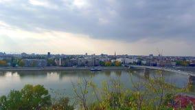 Capitale européenne de Novi Sad, Serbie de la culture 2021 Images libres de droits