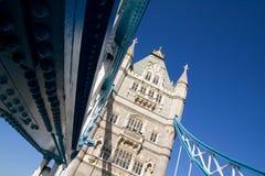 Capitale Inghilterra di Londra del ponticello della torretta Fotografia Stock