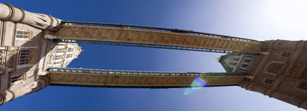 Capitale Inghilterra di Londra del ponticello della torretta Fotografie Stock Libere da Diritti