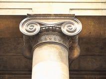 capitale ionico (aka chapiter immagine stock libera da diritti