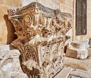 Capitale: la parte superiore di colonna o di colonna Fotografia Stock Libera da Diritti
