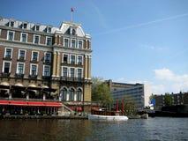 Capitale olandese di regno - Amsterdam Fotografia Stock Libera da Diritti