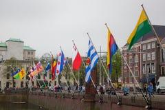 Capitale olandese, L'aia Immagini Stock Libere da Diritti