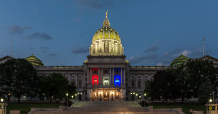 Capitale patriottica della Pensilvania Immagine Stock Libera da Diritti
