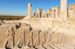 capitale Persepolis-antique des Persans images libres de droits