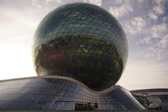 Capitale rappresentativa del distretto dell'Expo di mostra delle costruzioni di Astana del Kazakistan fotografia stock