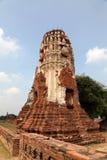 Capitale siamese antico a Ayuthaya Fotografia Stock Libera da Diritti