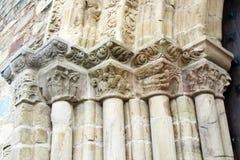Capitales de la iglesia Foto de archivo libre de regalías