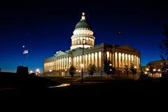 Capitali dello Stato dell'Utah Fotografie Stock